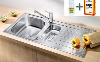 Как прочистить канализационную трубу содой и уксусом в домашних условиях