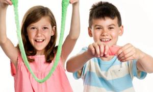 Как сделать слайм (лизун) из соды в домашних условиях для детей