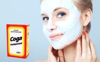 Как приготовить содовую маску для лица с медом, солью, пеной для бритья, зубной пастой