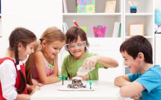 Как сделать вулкан из соды и уксуса: интересный опыт для детей