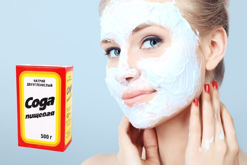 Сода помогает избавиться от разных проблем с кожей лица